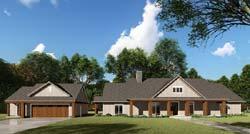 Farm Style Home Design Plan: 12-1520