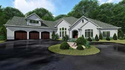 Traditional Style House Plans Plan: 12-1521