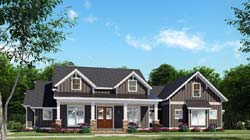 Craftsman Style Floor Plans Plan: 12-1522