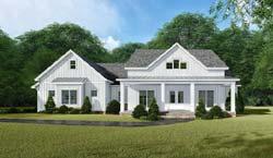 Modern-Farmhouse Style House Plans Plan: 12-1527