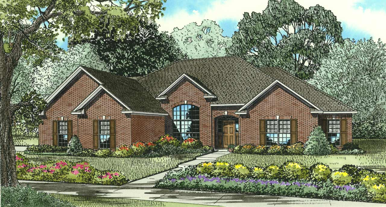 Traditional Style Floor Plans Plan: 12-153