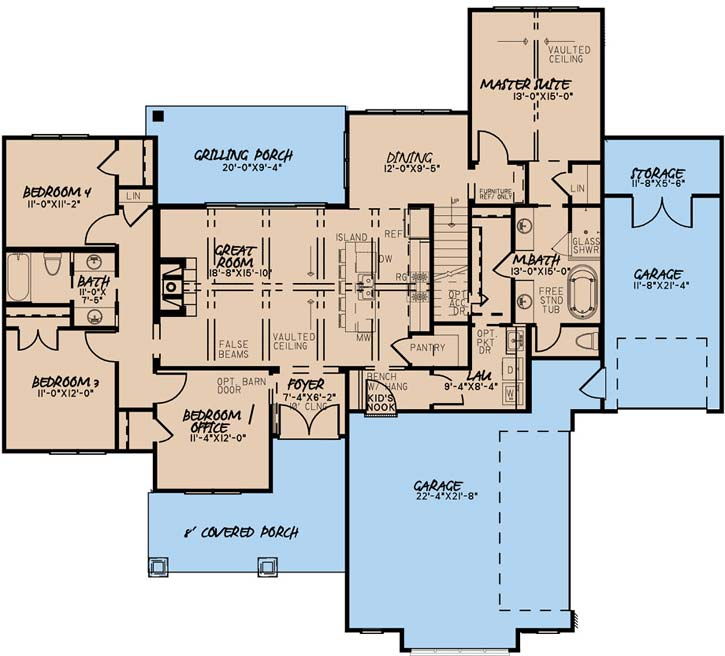 Main Floor Plan: 12-1531