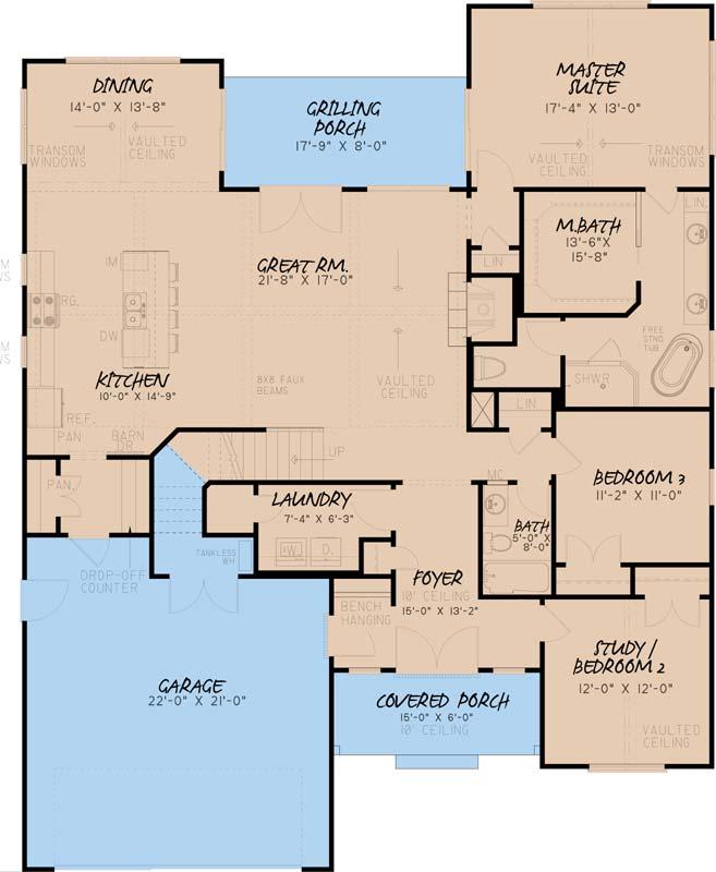 Main Floor Plan: 12-1537