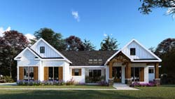 Traditional Style House Plans Plan: 12-1540