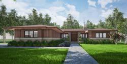 Modern Style House Plans Plan: 12-1542