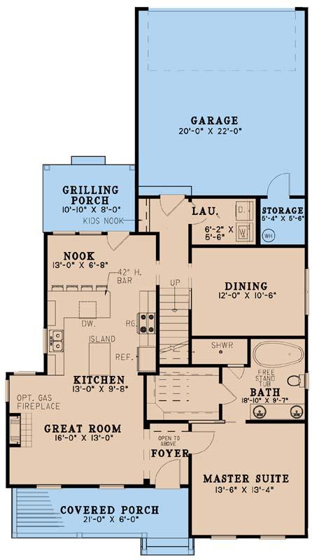 Main Floor Plan: 12-1544