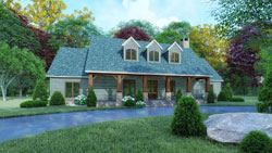 Farm Style House Plans Plan: 12-1547