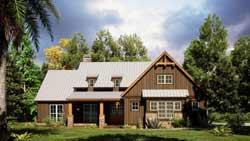 Modern-Farmhouse Style House Plans Plan: 12-1552