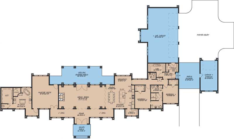 Main Floor Plan: 12-1564