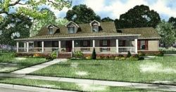 Country Style Home Design Plan: 12-157