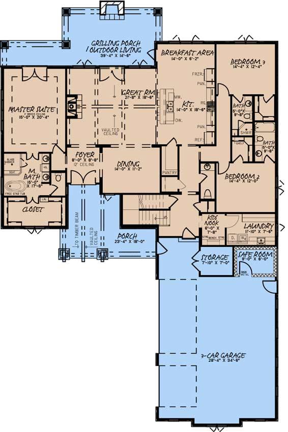 Main Floor Plan: 12-1579