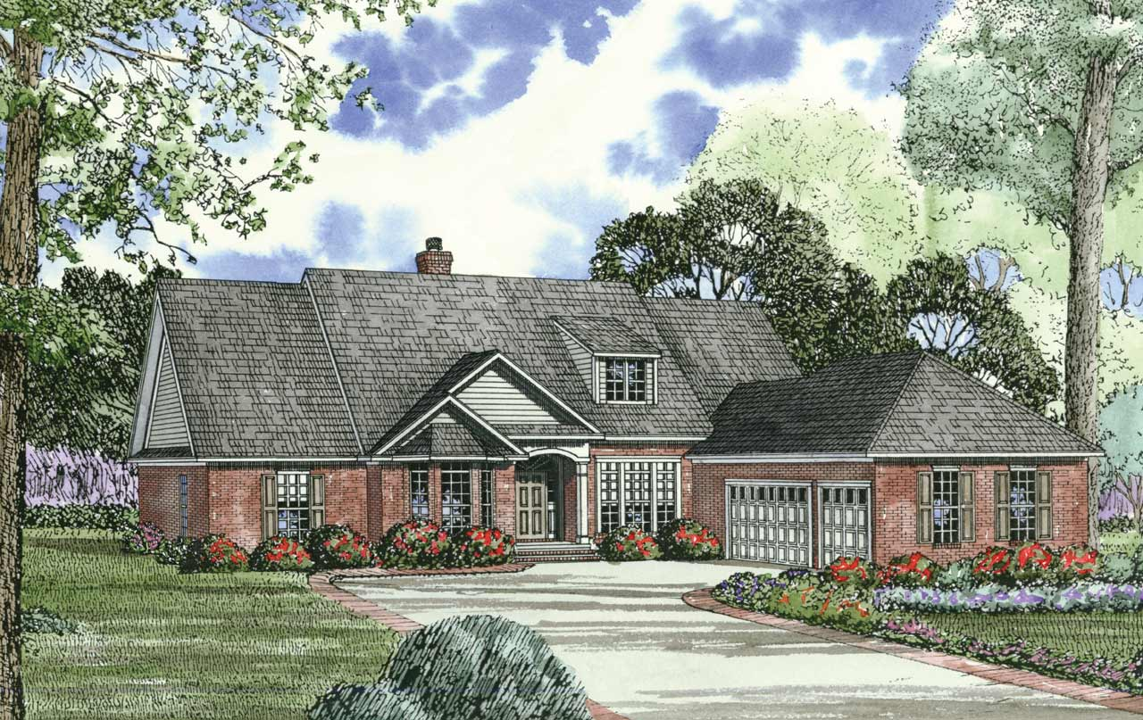 Traditional Style House Plans Plan: 12-158