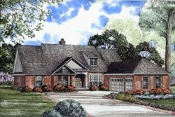 Traditional Style Home Design Plan: 12-158