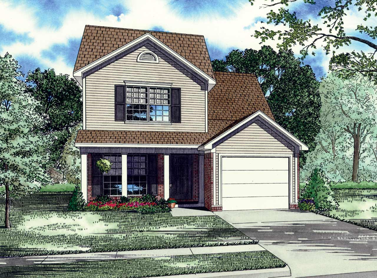 Traditional Style House Plans Plan: 12-162
