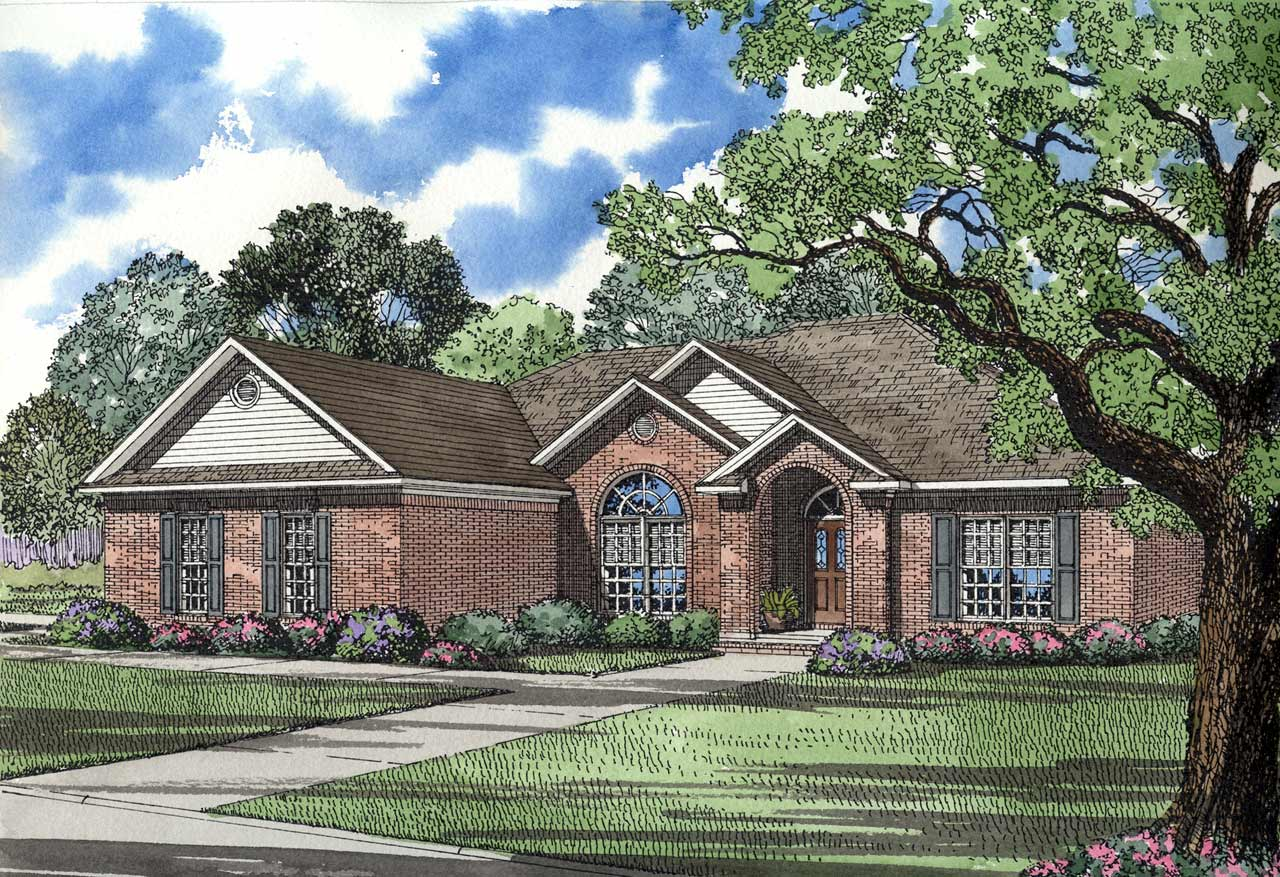 Traditional Style House Plans Plan: 12-164