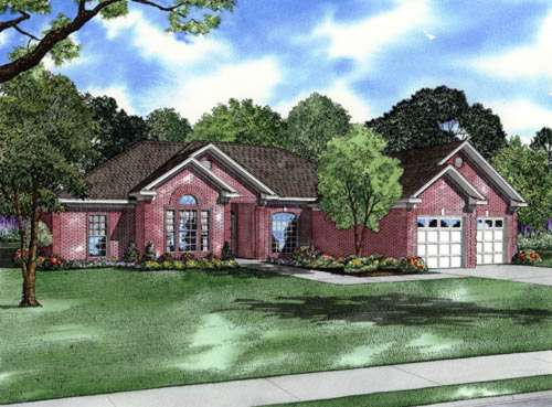 Southern Style Floor Plans Plan: 12-170