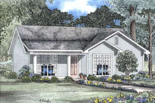 Ranch Style House Plans Plan: 12-173