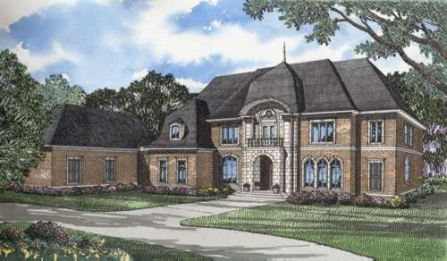 European Style Floor Plans Plan: 12-177