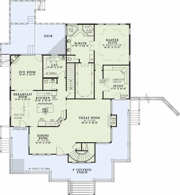 Main Floor Plan: 12-178