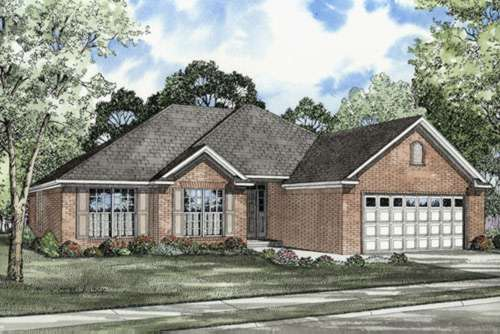 Traditional Style Floor Plans Plan: 12-179