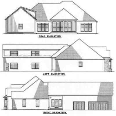 Rear Elevations Plan:12-182