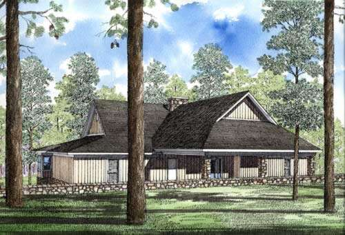 Contemporary Style House Plans Plan: 12-186