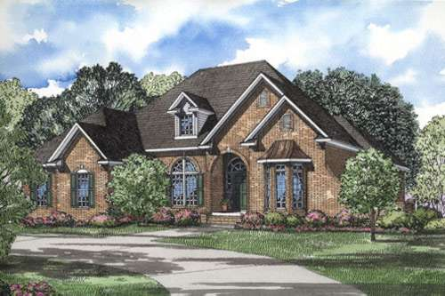Southern Style Floor Plans Plan: 12-191