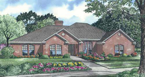 Traditional Style House Plans Plan: 12-194
