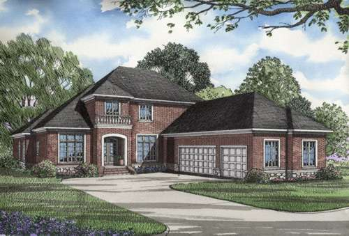 Southern Style Floor Plans Plan: 12-201