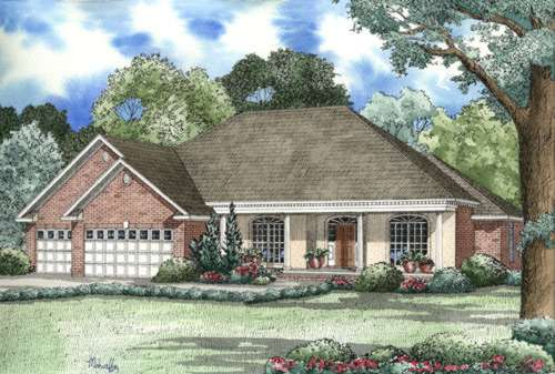 Southern Style House Plans Plan: 12-203
