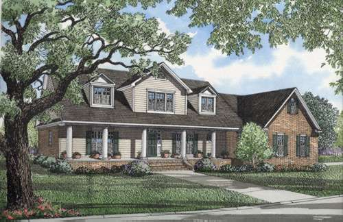 Southern Style Floor Plans Plan: 12-205