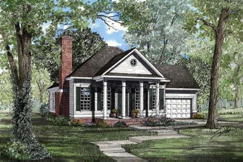 Southern Style House Plans Plan: 12-209