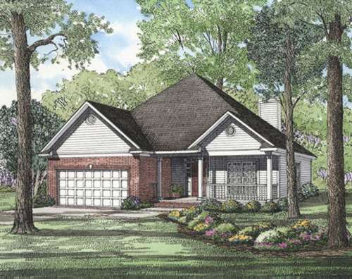 Traditional Style Home Design Plan: 12-210