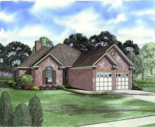 Traditional Style House Plans Plan: 12-214