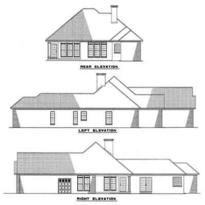 Rear Elevations Plan:12-214