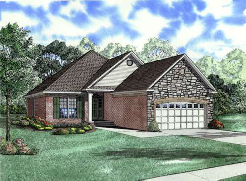 Southern Style House Plans Plan: 12-215