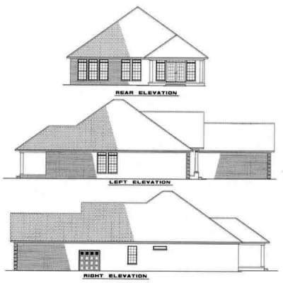 Rear Elevations Plan:12-215