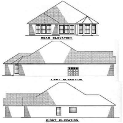 Rear Elevation Plan: 12-220