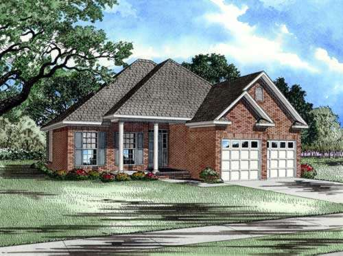 Traditional Style Home Design Plan: 12-221
