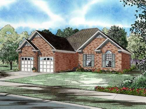 Traditional Style House Plans Plan: 12-223
