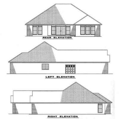 Rear Elevations Plan:12-223