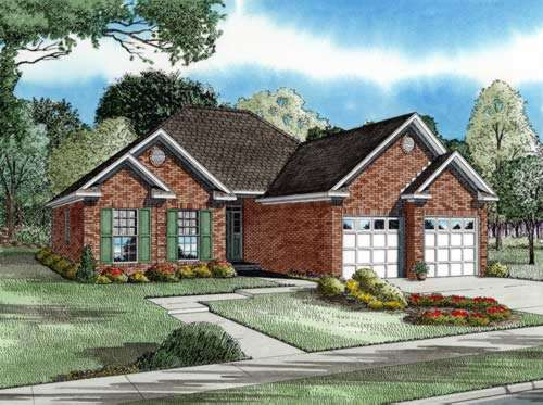 Traditional Style Home Design Plan: 12-225