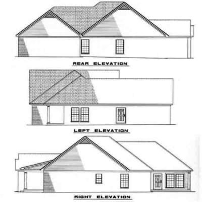 Rear Elevations Plan:12-229