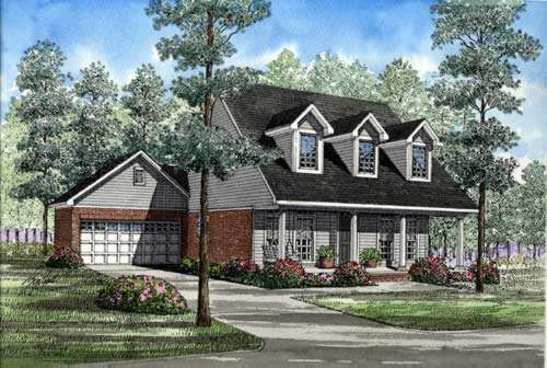 Southern Style Floor Plans Plan: 12-230