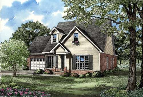 Traditional Style Floor Plans Plan: 12-231