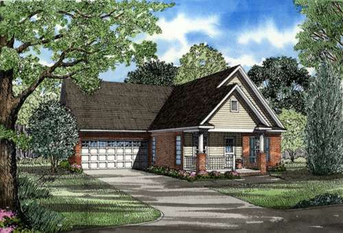 Traditional Style Home Design Plan: 12-234
