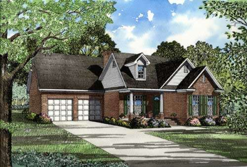 Country Style House Plans Plan: 12-236
