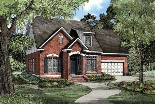 Traditional Style Floor Plans Plan: 12-237