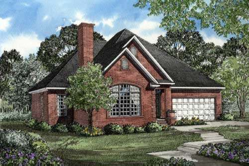 Traditional Style Home Design Plan: 12-238