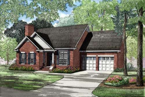 Traditional Style Floor Plans Plan: 12-239